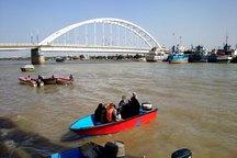 گردشگری آبی در خرمشهر ممنوع شد