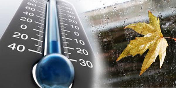 کاهش دمای هوا در گیلان