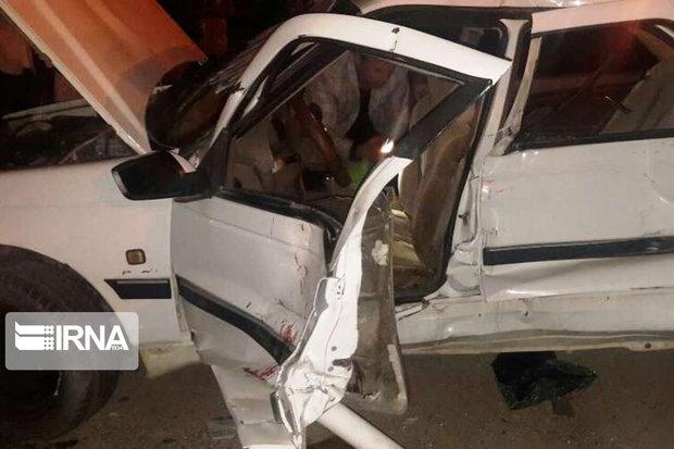 تصادف در راه روستایی ۲ کشته و ۶ مجروح داشت