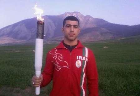 مشعل دومین المپیاد ورزشی نوجوانان گلستان در گالیکش حمل شد
