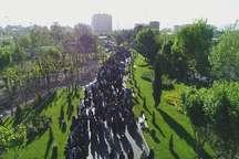همایش پیاده روی خانوادگی در پنج بوستان پایتخت برگزار شد