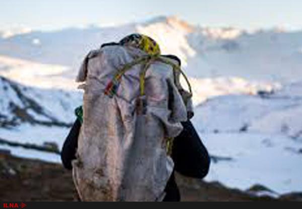 مرگ دلخراش کولبر نوجوان مریوانی در ارتفاعات تته