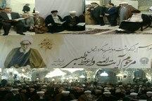 مراسم سالگرد درگذشت آیت الله طبسی در مشهد برگزار شد