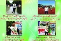 هفت مدال رنگارنگ حاصل تلاش ورزشکاران کرمانشاه در مسابقات قهرمانی کارگران جهان