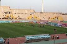 حاشیه دیدار استقلال خوزستان و خونه به خونه