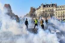 زخمی شدن بیش از 400 تن در اعتراض های گسترده در فرانسه