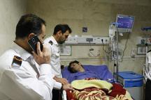 آتش نشان مصدوم کلانشهر رشت از بیمارستان مرخص شد