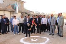 عملیات احداث 2 مرکز سلامت در شهرستان پیشوا آغاز شد
