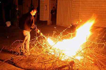 حریق و آتش سوزی چهارشنبه سوری در اراک 30 درصد کاهش یافت