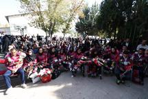 آیین استقبال از ملی پوشان زنجانی پارا آسیایی برگزار شد