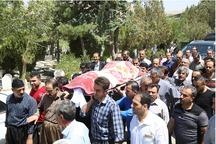جان باختگان حادثه اتوبوس کمربندی حسینی سنندج تشیع شدند