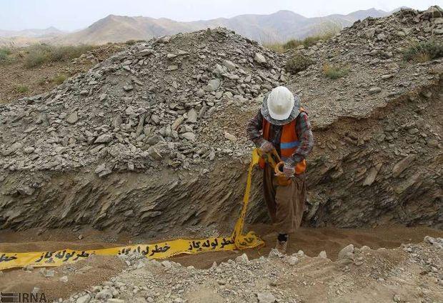بیش از ۱۱ هزار کیلومتر شبکه گازرسانی در کردستان اجرا شد