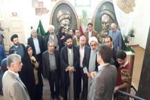 بازدید اعضای کمیسیون فرهنگی مجلس از دانشگاه هنر اسلامی تبریز