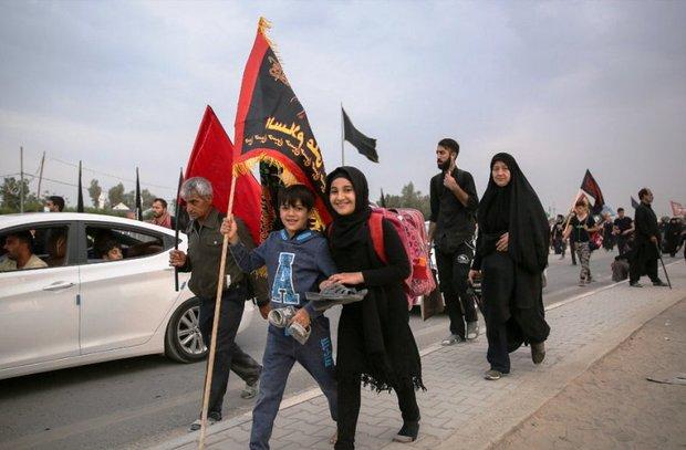 توزیع 700 هزار اقلام فرهنگی بین زائران اربعین حسینی 96