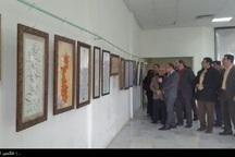 نمایشگاه مشترک خوشنویسی و نقاشی در کنگاور گشایش یافت