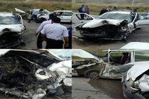 دو سانحه رانندگی یک کشته و هشت مصدوم بر جای گذاشت