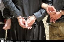 سارقان مسلح در کرمانشاه به دام پلیس افتادند