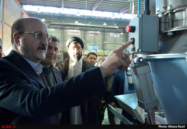 افتتاح واحد ساخت قطعات ماشینی الکتریکی در شهرک صنعتی کاسپین 2 آبیک