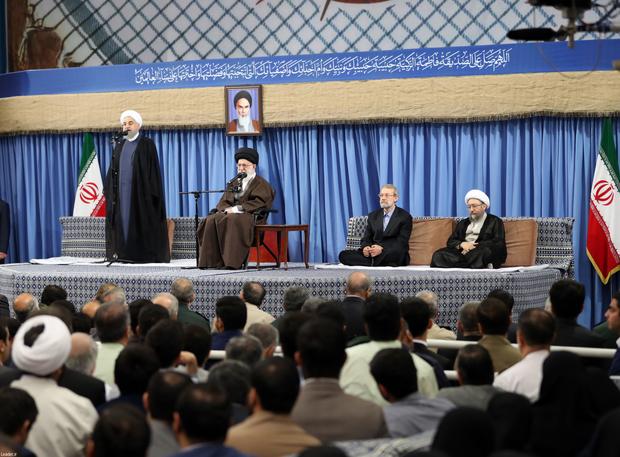 رئیس جمهوری: ملت بزرگ ایران در پی خلق حماسهای جدید است