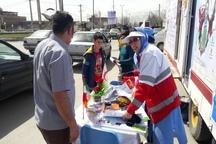 بیش از ۱۳ هزار نفر به پست های ایمنی و سلامت نوروزی در آذربایجان غربی مراجعه کردند