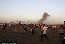 313 شهید و زخمی در تظاهرات غزه+ تصاویر
