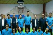 اردوی مشترک قهرمان لیگ برتروالیبال نشسته ایران با تیم ملی قزاقستان درمازندران