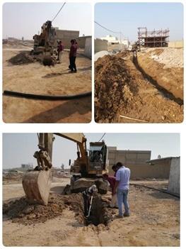 عملیات آبرسانی از فاز۴ امیرآباد در منطقه آزاد اروند آغاز شد