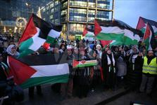 تظاهرات مردم آلمان در اعتراض به تصمیم ترامپ درباره قدس