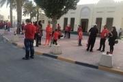 حضور کم تعداد ایرانیها در ورزشگاه زئبیل و حمایت از پرسپولیس