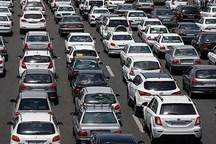 یک میلیون خودرو روزانه از جاده های قزوین تردد کرده اند