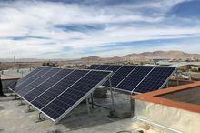 نیروگاه خورشیدی درآمدی پایدار برای مددجویان کمیته امداد رفسنجان و انار