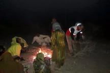 12گرفتار طغیان رودخانه محلی در دلگان نجات یافتند