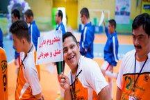 مسابقات فوتسال سندروم داون کشور در سیرجان برگزار شد
