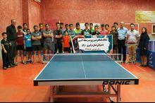 استان مرکزی عنوان نخست مسابقات تنیسرویمیز کشور را کسب کرد