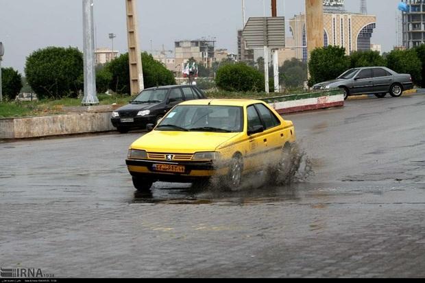 بیشترین میزان بارش باران خوزستان در باغملک ثبت شد