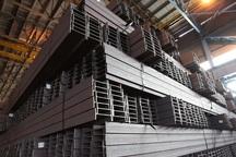 تیرآهن بال شیبدار 200  در ذوب آهن اصفهان تولید شد