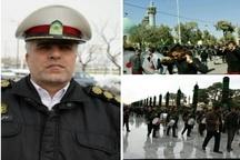 تمهیدات ترافیکی پلیس راهور استان البرز در ایام پایانی ماه صفر