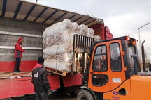 محموله گوشت از آذربایجان غربی به سیل زدگان لرستان ارسال شد