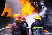 آتش سوزی سفره خانه سنتی در آستارا مهار شد