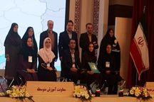 معلمان البرز درجشنواره کشوری برتر شدند