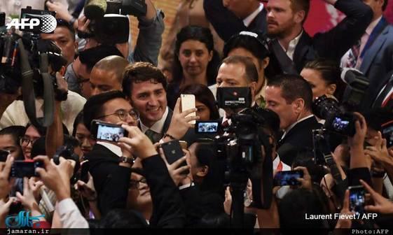 استقبال گرم از نخست وزیر محبوب+ تصاویر