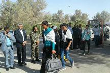 ۱۵۰ دانشآموز مهریز عازم مناطق دوران دفاعمقدس شدند