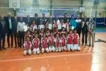 کسب مقام اول و سوم مسابقات استانی والیبال مدارس فردیس