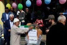 ۷۵ هزار پاکت جشن عاطفه ها در مدارس کهگیلویه و بویراحمد توزیع شد