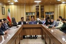 جلسه بررسی پروژه های عمرانی بخش خشکبیجار