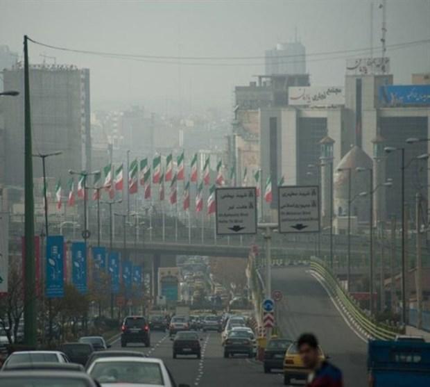 غبار محلی و افزایش آلاینده ها برای البرز پیش بینی شد