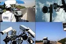 مرحله دوم جانمایی دوربین هوشمند در جاده های برون شهری ایلام آغاز شد