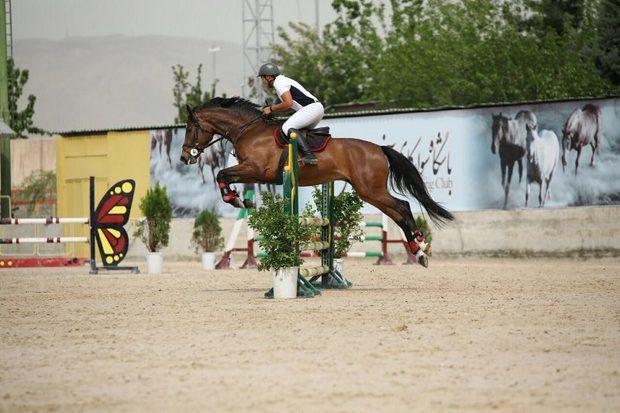 260 سوارکار درمسابقات پرش با اسب تهران شرکت کردند