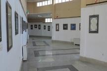 نمایشگاه گروهی خوشنویسی در بوکان گشایش یافت