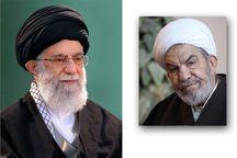 رهبر انقلاب درگذشت حجتالاسلام حسنی را تسلیت گفتند